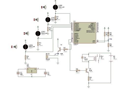 پروژه قفل رمز دیجیتال با AVR  وسنسور LDR  (در محیط پروتئوس و بسکام 100% عملی)